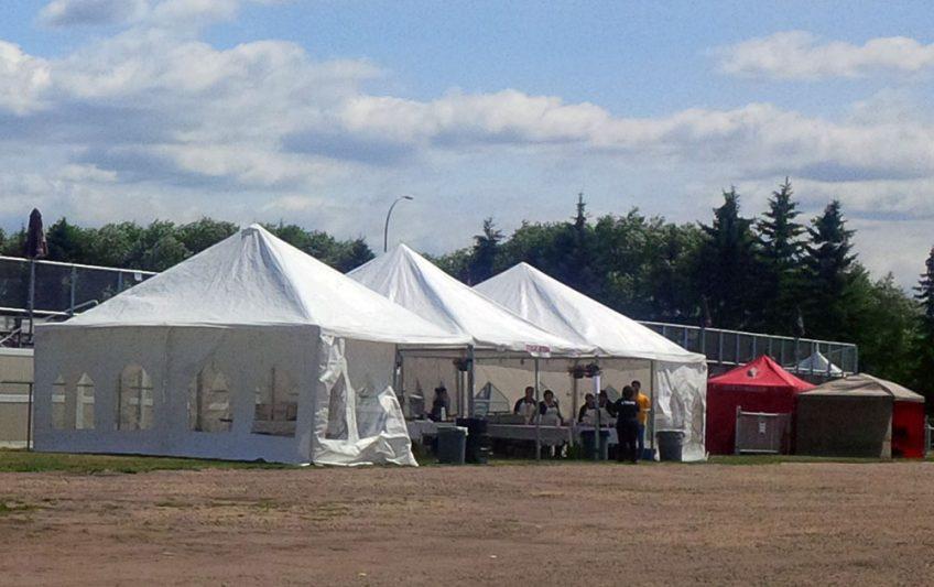 Event tents 20 x 20